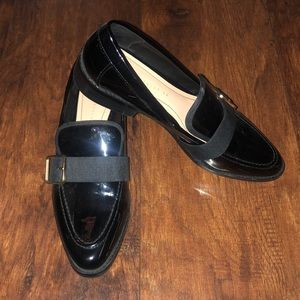 Black nylon Loafers